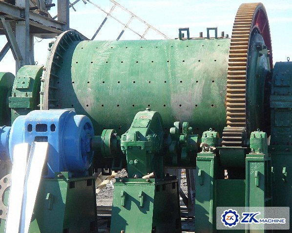 Ball Mill and crusher for Gold Ore Dressing Project in Russi