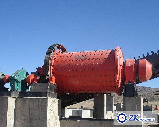 Greece ball mill project
