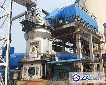 Cement vertical raw mill